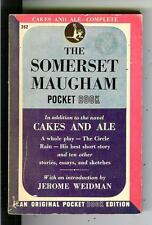 THE SOMERSET MAUGHAM POCKET BOOK, rare US PB #262 1st classic pulp vintage pb