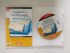 English G 21 Vokabelkartei interaktiv Lernsoftware
