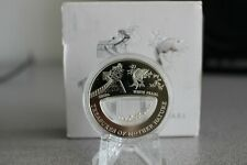 Treasures Mother Nature White Pearl China 1$ Fiji 2012 Silver Coin
