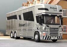 Stobart Scania Highline P380 Oakley Suprématie 6 Décrochage remorque à chevaux 1