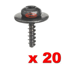 Engine Under Tray Metal Mounting Screws Nut Bolt Torx For Ford Focus Fiesta x 20