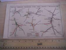 More details for shepreth cambridge wellingboro huntingdon st ives bedford sandy railway map 1914