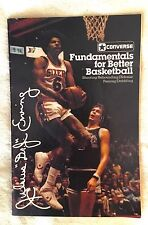 Fundamentals for Better Basketball by Converse. Julius Erving cover