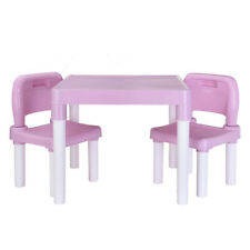 Desk Chair Kids Table Set Play Study Children Activity Furniture Toddler Pink Us