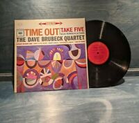 The Dave Brubeck Quartet ‎–Time Out-Columbia CS 8192-LP Santa Maria 1971 Reissue