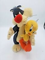 Sylvester and Tweety Steiff with Tags Limited Edition Good Condition