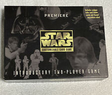 Star Wars Premiere Customizable Card Game Complete Introductory Set
