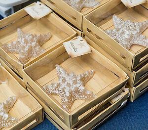 Miniature Starfish Candle Beach Ocean Theme Bridal Shower Wedding Favors