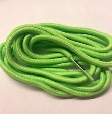 Pair Football Boots And Sports Shoe Laces (120cm Round Laces)-  Lime Green