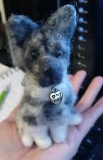 New ListingFelted Dog German Shepherd 4 inches