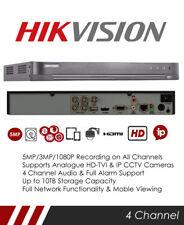 Hikvision DS-7204HUHI-K1/P 5MP 4 Channel TVI POC DVR & NVR Tribrid CCTV Recorder