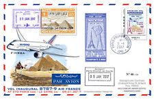 Maxi-FFC Air France 1st flight Paris-Cairo / Concorde 1976 / B787-9 2017 - TYPE3