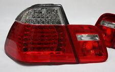 LED RÜCKLEUCHTEN RÜCKLICHTER SET BMW E46 3er M3 LIMOUSINE -01 ROT KLAR TÜV-FREI