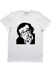 T-Shirt Maglietta woody allen uomo sku:00229