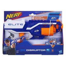 Pistola Blaster Hasbro Nerf Disruptor Elite Tamburo Rotante Spara 6 Colpi a 27 m