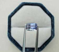 Tanzanite Cushion loose natural gem 7.8 x 5.5mm