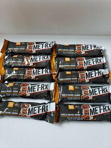 MET-Rx Big 100 Colossal Protein Bars x 10 Vanilla Caramel Churro