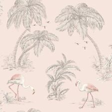 Fard Flamant Rose Lac Papier Peint - Holden 50155 Neuf