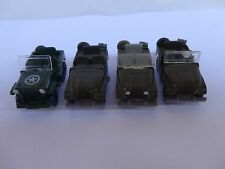 Sammlung Wiking 1:87 Geländewagen teils Bundeswehr