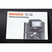 Minox Blitz tc-35 mode d'emploi/instructions d'utilisation/manuel/allemand