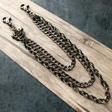 Vintage Long Strong Leash Biker Trucker Key Jean Heavy Wallet Chain Skull Bullet