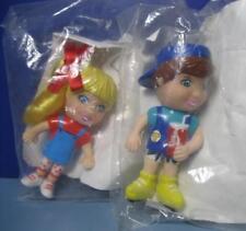 NEW Targeteers Doll PVC figure Lot 2-TARGET FOOD AVENUE Happy Meal Toy-girls boy