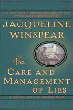 The Care and Management of Lies: A Novel of the Great War - Acceptable - Winspea