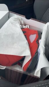 Nike Air Jordan 5 Retro Raging Bull Red Black 440888-600 GS Size 7y