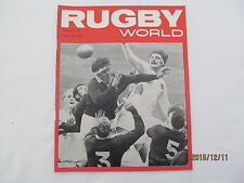 Rugby Union Magazine--Rugby World February 1970.