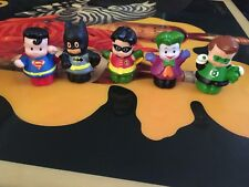 Fisher-Price Little People Super Heros  And Villain