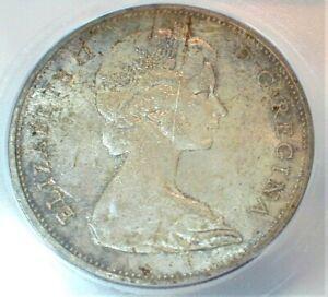1965 Canada Silver Dollar ICG MS65 Condition w/Glazed Toning  (343)