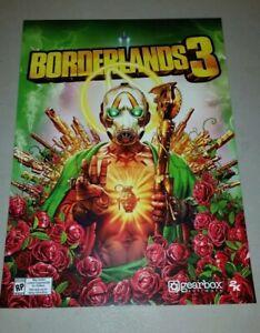 E3 2019 Borderlands 3 poster 11x15