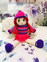 Toy Rag Doll Knitting Pattern