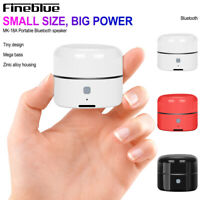 Bluetooth Speaker Wireless Super Bass Portable USB Music Player Fineblue MK-18 R