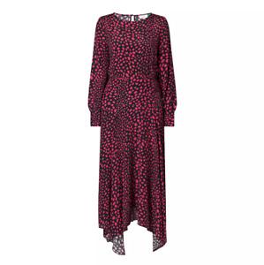 RIXO London WOMAN leopard-print midi dress