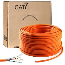 100m Cat 7 Verlegekabel 1000MHz S/FTP PIMF simplex 10Gbit Gigabit Netzwerkkabel