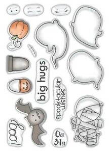 Polkadoodles Spooktacular Clear Stamps