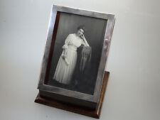 Englischer Taschenuhrenständer / Bilderrahmen Silber 1922 (63087)