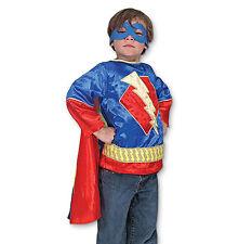 SUPERHERO ROLE PLAY SET THUNDERBOLT LIGHTNING HALLOWEEN COSTUME CHILD SMALL 3-6