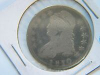 1810 Capped Bust Silver Half Dollar VG