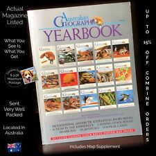 Australian Geographic Yearbook Including Canning Stock Route Poster Map