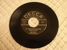 BOB WILLS MY SHOES KEEP WALKING BACK TO YOU/TEXAS FIDDLER  DECCA 30068 M-
