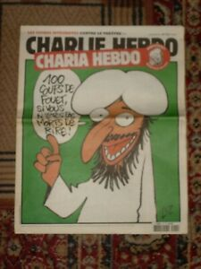 CHARLIE HEBDO N° 1011, 2 novembre 2011 : CHARIA HEBDO MAHOMET REDACTEUR EN CHEF