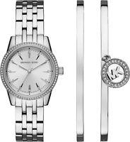 Michael Kors Women's MK3746 'Ritz Quartz Stainless Steel Casual Watch
