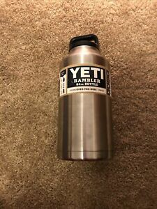 NEW YETI Rambler 64oz Stainless Steel Vacuum Insulated Bottle Discontinued