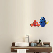 Nemo Dory fish cartoon Peel Stick for Wall Room Decal Sticker GraphiDecor Remov