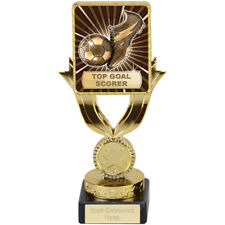 FOOTBALL SOCCER TOP GOAL SCORER TROPHY QUALITY ENGRAVED FREE SQUAD TEAM TROPHIES