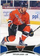 16/17 UPPER DECK AHL #27 TAYLOR LEIER LEHIGH VALLEY PHANTOMS *30948