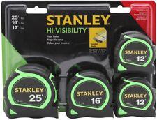 Stanley HI-VISIBILITY 4-Pack 25-ft Tape Measure