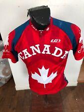 MENS Medium Louis Garneau Cycling Jersey Half Zip CANADA